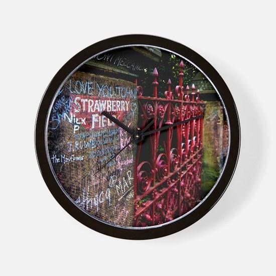 Strawberry Field Wall Clock