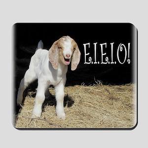 Baby Goat e.i.e.i.o! Mousepad