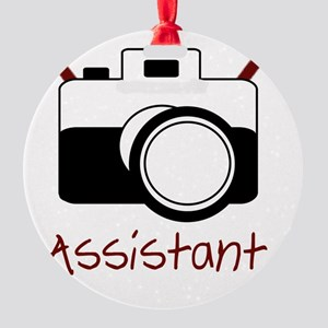 assistant Round Ornament