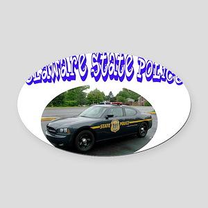 delawarespcar Oval Car Magnet