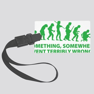 somwhereWrong1D Large Luggage Tag