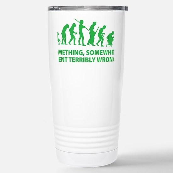 somwhereWrong1D Stainless Steel Travel Mug
