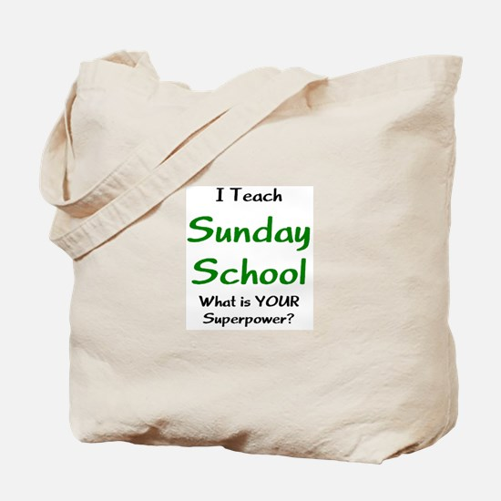 teach sunday school Tote Bag