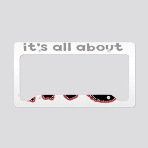 All About Me License Plate Holder