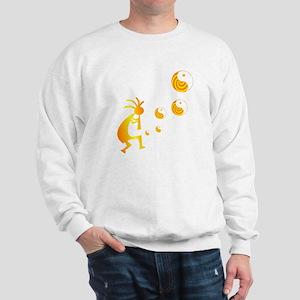 Kokopelli with Yin Yang Sweatshirt