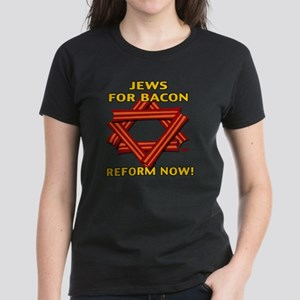 jews-for-bacon-2012-b Women's Dark T-Shirt