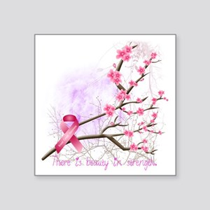 "cherryblossom-dark Square Sticker 3"" x 3"""