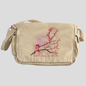 cherryblossom-dark Messenger Bag
