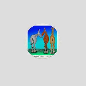 5099_horse_cartoon Mini Button