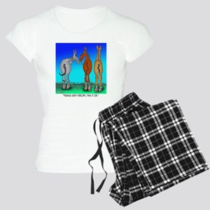 5099_horse_cartoon Women's Light Pajamas