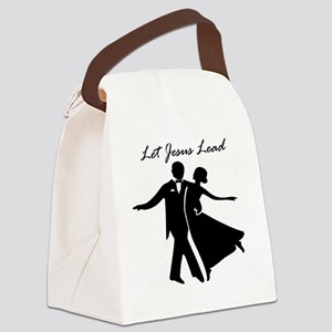 Let Jesus Lead Canvas Lunch Bag