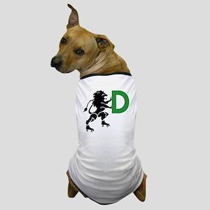 BLACK_DDD_LION Dog T-Shirt