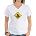 Kokopelli Crossing Women's V-Neck T-Shirt