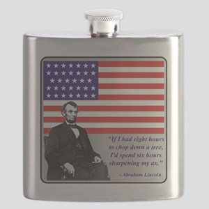 LincolnFlag7 Flask