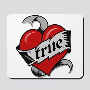 True Love Heart Mousepad
