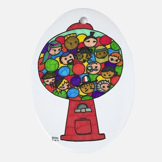 gwc Oval Ornament