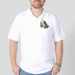 Wood for Sheep (image) 1 Golf Shirt
