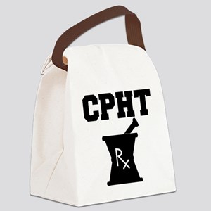 CPHT-2-blackonwhite Canvas Lunch Bag