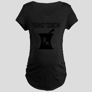 Pharmacy-Technician-3--blac Maternity Dark T-Shirt