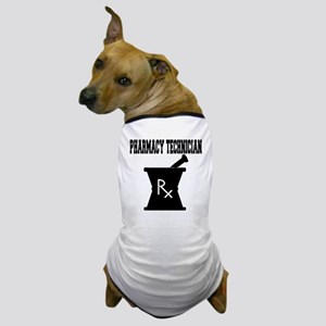Pharmacy-Technician-3--blackonwhite Dog T-Shirt