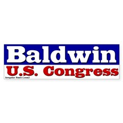 Tammy Baldwin for Congress Bumper Bumper Sticker