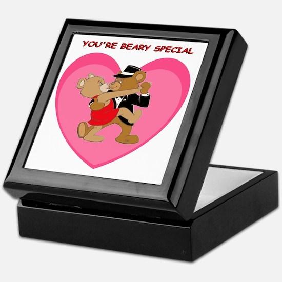 Tango Teddies Keepsake Box