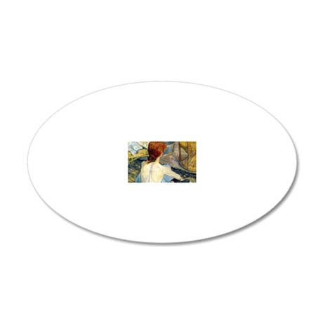 Coin TL 2 20x12 Oval Wall Decal