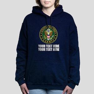 US Army Symbol Women's Hooded Sweatshirt