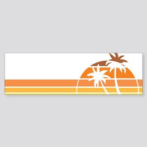 nebraskaBeach1F Sticker (Bumper)