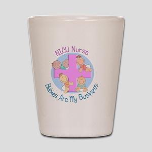 NICU Nurse 2012 4 babies Shot Glass