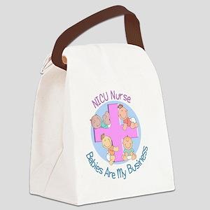 NICU Nurse 2012 4 babies Canvas Lunch Bag
