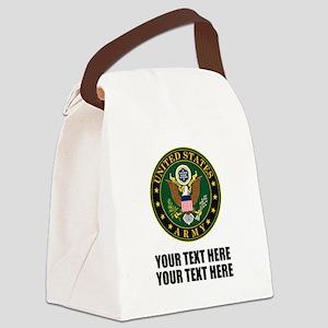 US Army Symbol Canvas Lunch Bag