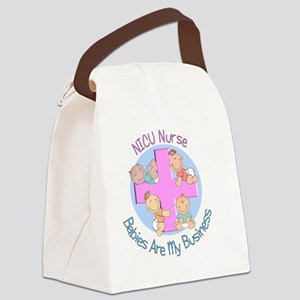 NICU Nurse 2012 4 babies Canvas Lunch Bag