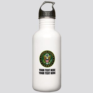 US Army Symbol Stainless Water Bottle 1.0L