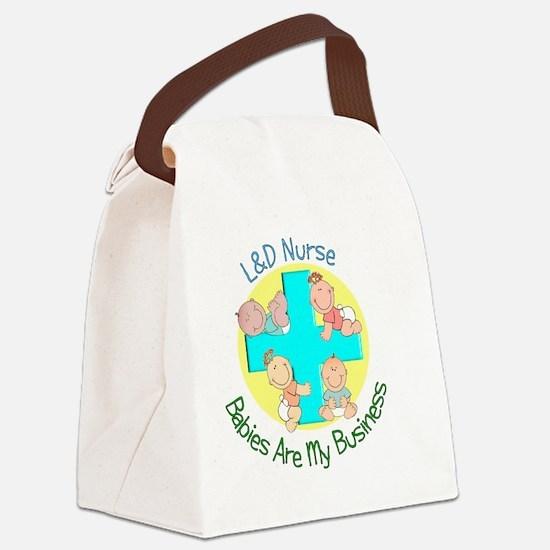 LD Nurse Canvas Lunch Bag