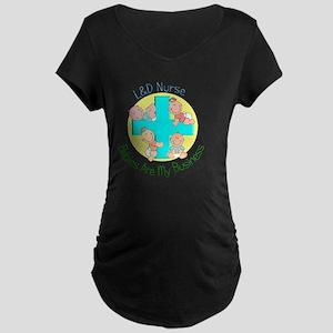 LD Nurse Maternity Dark T-Shirt