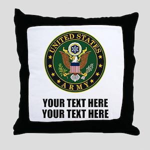 US Army Symbol Throw Pillow