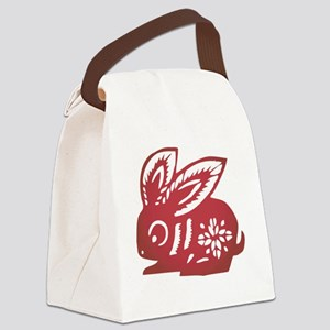 ChineseZodiacRabbit Canvas Lunch Bag