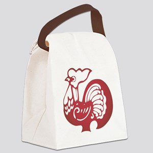 ChineseZodiacRooster Canvas Lunch Bag