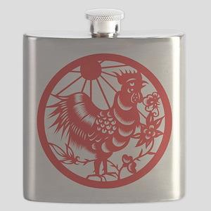 ChineseZodiacRoosterB Flask