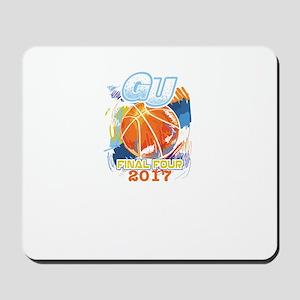 GU Final Four 2017 Basketball Mousepad