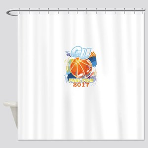 GU Final Four 2017 Basketball Shower Curtain