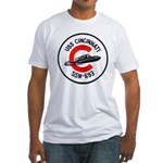USS CINCINNATI Fitted T-Shirt