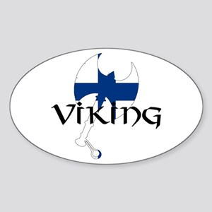 Finland Viking Sticker