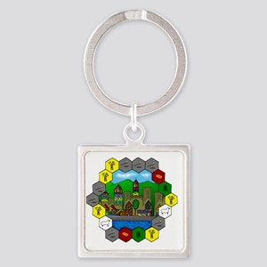 Untitled - 1 Square Keychain