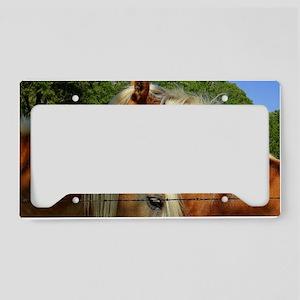 Haflinger Soul Mates License Plate Holder