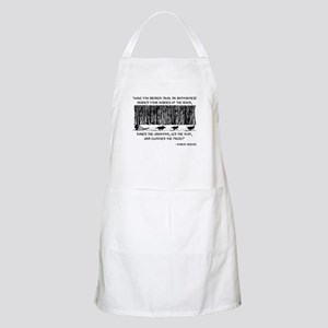 Mushed Your Huskies Poem Apron