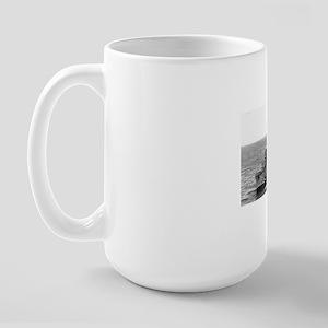 gurke rectangle magnet Large Mug