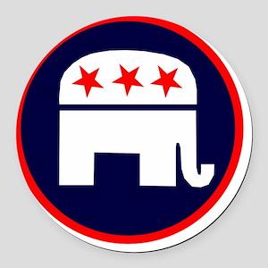 REPUBLICAN 2012 Round Car Magnet