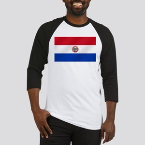 Flag of Paraguay Baseball Jersey